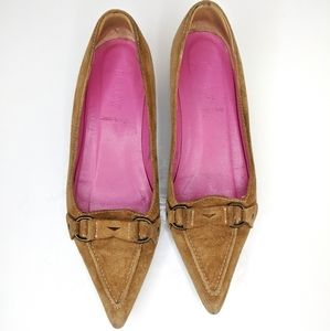 J. Crew Pointed Toe Loafers